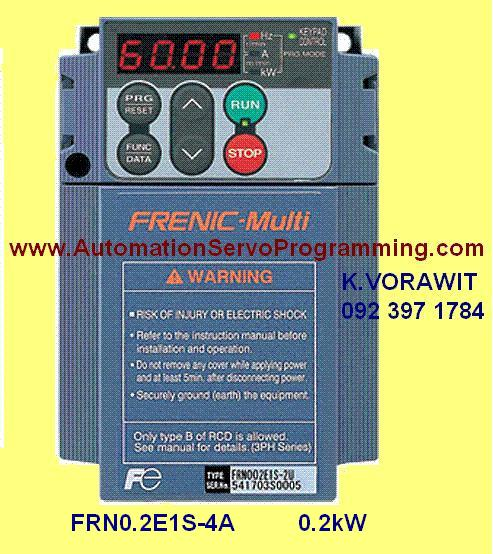 INVERTER FRN0.2E1S-4A : FRENIC-Multi Series